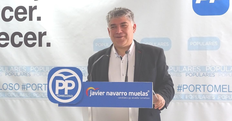 Cotillas asegura que Page es el único presidente regional que ha privatizado servicios en el Hospital de Tomelloso