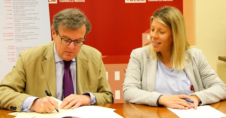 """El Ayuntamiento de Tomelloso firma un convenio de colaboración con la UCLM para la organización del curso de verano """"Luz, color y tiempo"""""""