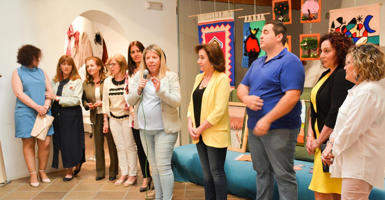 Se inaugura la exposición de los trabajos realizados en el programa de Actuación Comunitaria