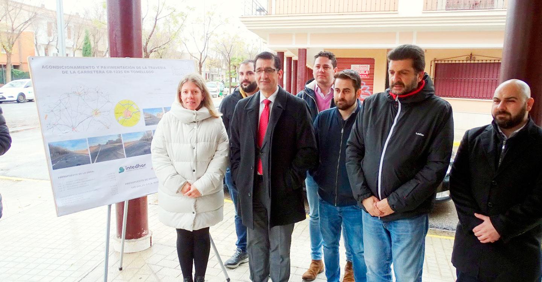 Inaugurada la Travesía del deporte en el carreteril de la Ossa