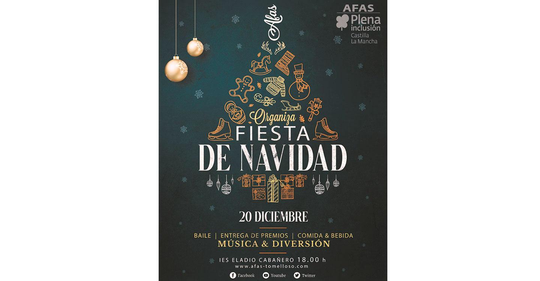 AFAS celebra su Fiesta de Navidad.