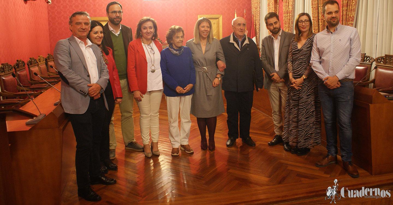 Merecido homenaje a la primera mujer concejala del Ayuntamiento en la persona de Celia Soubriet López