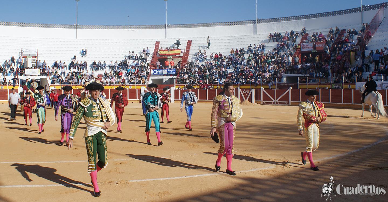 Triunfo para Aníbal Ruiz cortando tres orejas y un rabo en la VII Corrida Benéfica de toros celebrada en Tomelloso