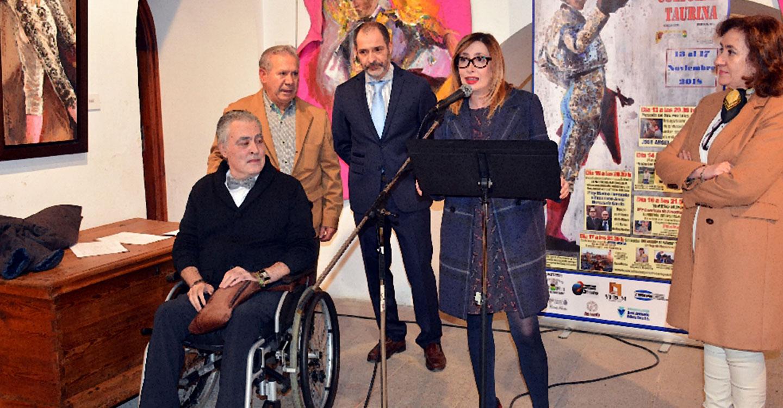 José Ángel Ramírez expone en La Posada una excelente muestra de temática taurina