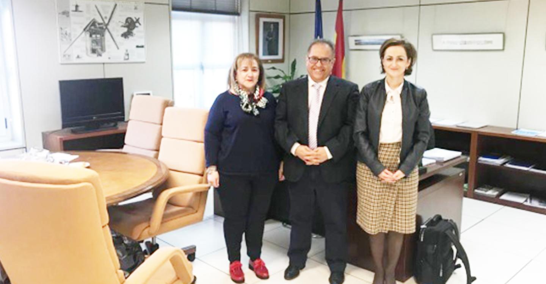 Fundación Ceres visita al director general de servicios sociales para las famillias y la infancia del Ministerio de Sanidad, Consumo y Bienestar Social