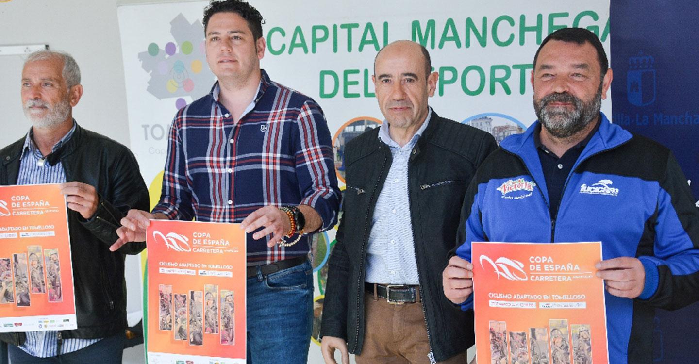 Tomelloso acogerá el domingo una prueba de la Copa de España de Ciclismo Adaptado