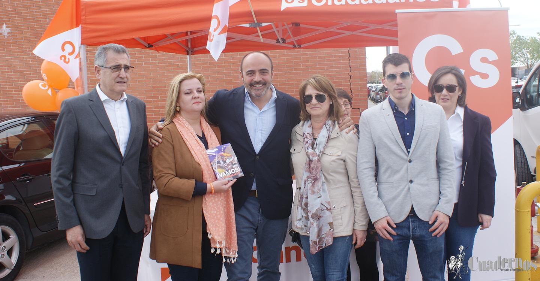 """Francisco Fernández-Bravo: """"En Cs queremos que España y Ciudad Real sean el mejor lugar para poder emprender y formar una familia"""""""