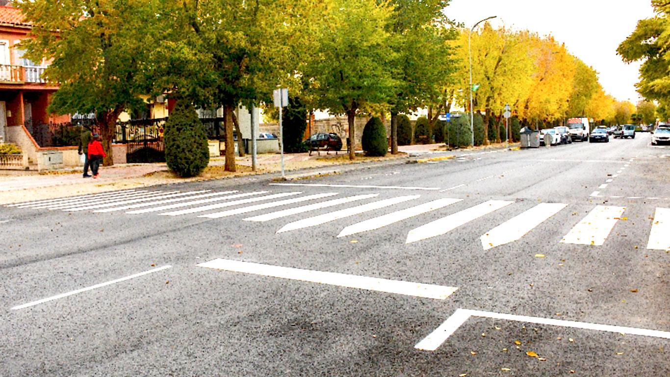 Finalizan las obras de remodelación del tramo urbano de la carretera de Ossa de Montiel