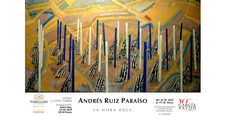 Andrés Ruiz Paraíso expondrá en el López Torres del 24 de abril al 19 de mayo