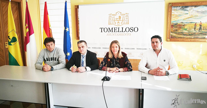 Joven, ambicioso y nuevo convenio del Ayuntamiento con la Asociación de Empresarios