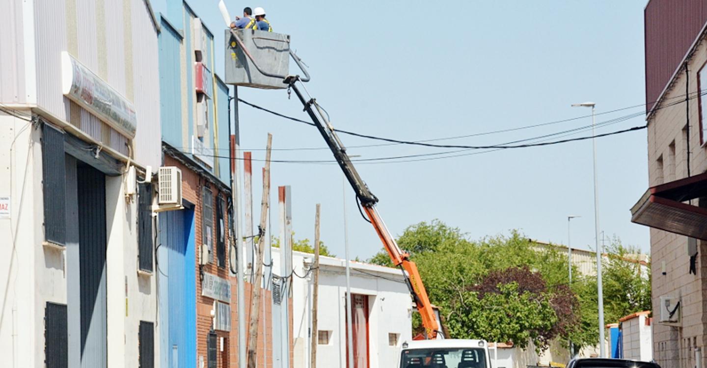 Continua desarrollándose en Tomelloso el proyecto municipal de eficiencia energética