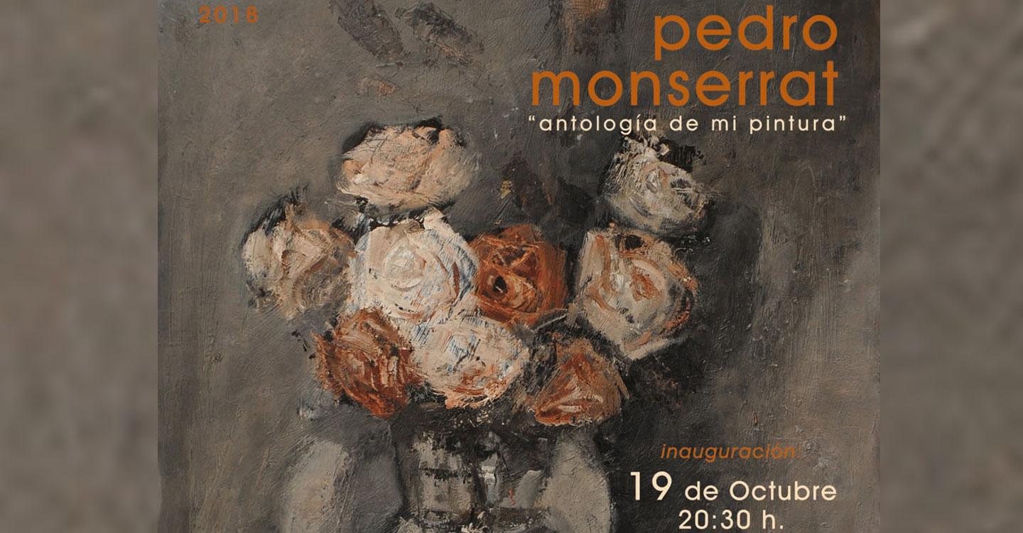 Pedro Montserrat inaugura el viernes una exposición de pintura en la Posada de los Portales