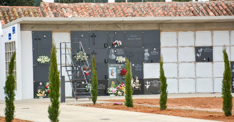 Finalizan las obras de mejora en el Cementerio municipal