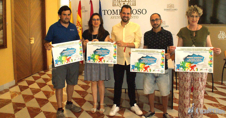 Zumba solidaria a beneficio de la Asociación de Diabéticos de Tomelloso y Comarca