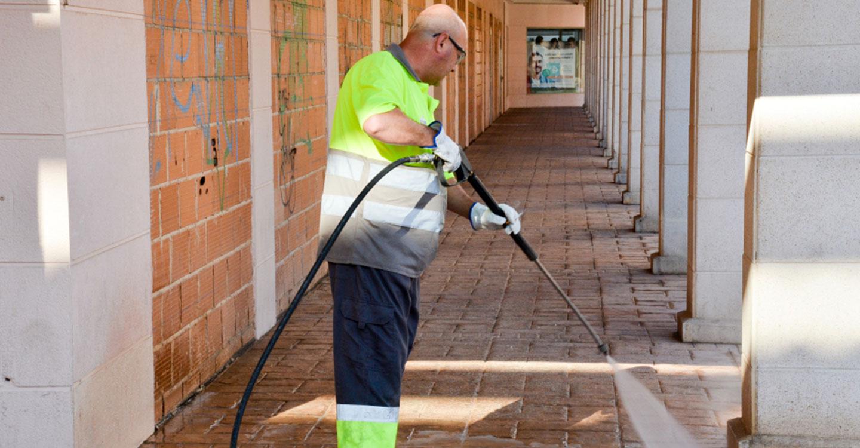 En proceso el refuerzo  del servicio de limpieza contratado con Ferrovial