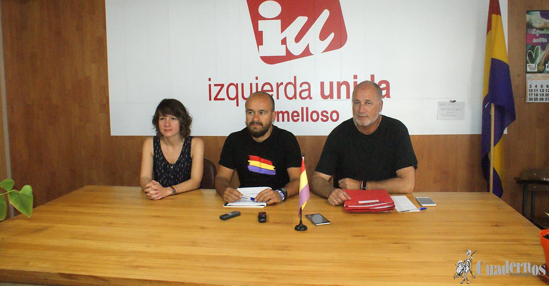 Izquierda Unida continuará reivindicando sus planteamientos políticos fuera del Gobierno Municipal en sus cinco ejes principales de lucha política.