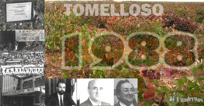 1988 : Un año que será recordado por el fuerte ataque de Mildiu en los viñedos de Tomelloso