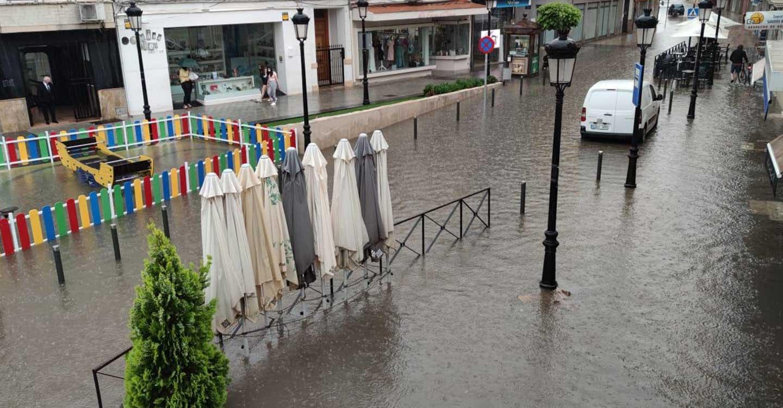 En solo 2 horas se contabilizaron en Tomelloso 109 incidentes por lluvias y tormentas con un total de 153