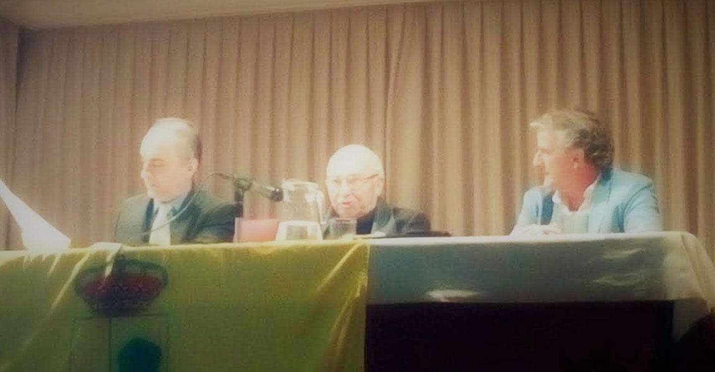 Acto 1ª Conferencia en el centenario del nacimiento de Francisco García Pavón