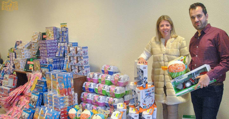 El Ayuntamiento de Tomelloso, a través de Cáritas y Cruz Roja, repartirá alrededor de 500 juguetes