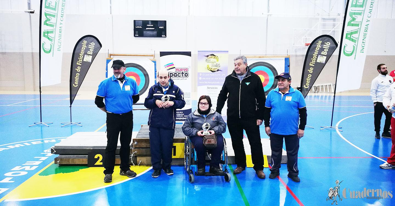 Tomelloso acogió el Campeonato Regional en Sala de Tiro con Arco