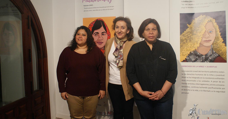 La lucha por la defensa de los derechos humanos de género se presenta en una exposición en la Posada de los Portales