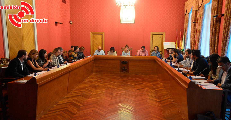 Sesión ordinaria del Ayuntamiento Pleno, este jueves 21 de marzo, a las 20:00 horas