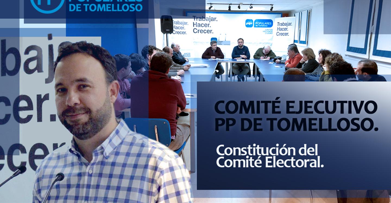 Constituido el Comité Electoral que elaborará la candidatura del Partido Popular de Tomelloso a las próximas elecciones municipales