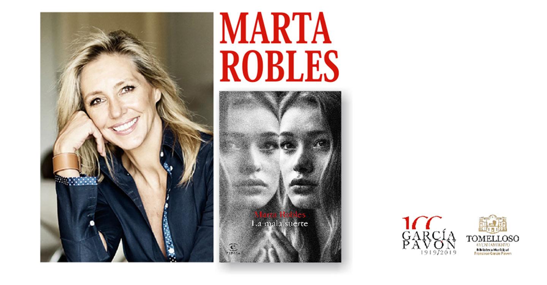"""Marta Robles participará en el Encuentro sobre novela policiaca con la presentación de su novela: """"La Mala Suerte"""""""