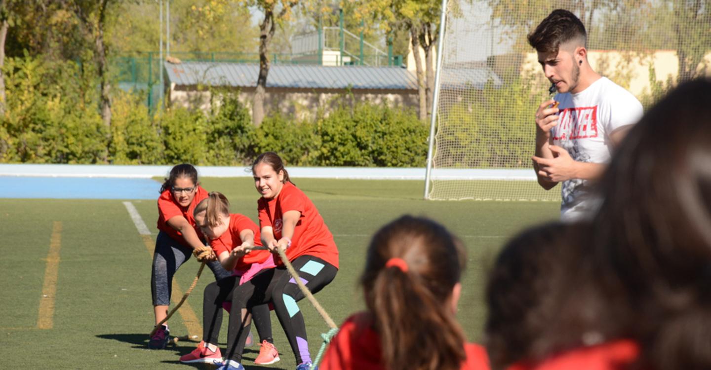 Asociación de Celiacos y Ayuntamiento organizan el I Decathlón por equipos en la plaza de España de Tomelloso