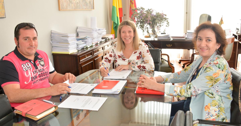 Renovado el convenio de colaboración entre el Ayuntamiento de Tomelloso y Cruz Roja