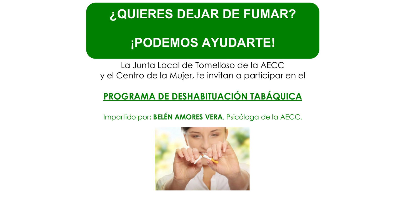 Abierto el plazo para participar en un taller para dejar de fumar en el Centro de la Mujer