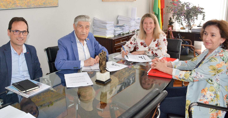 Renovado y ampliado el convenio de colaboración entre el Ayuntamiento de Tomelloso y AFAS
