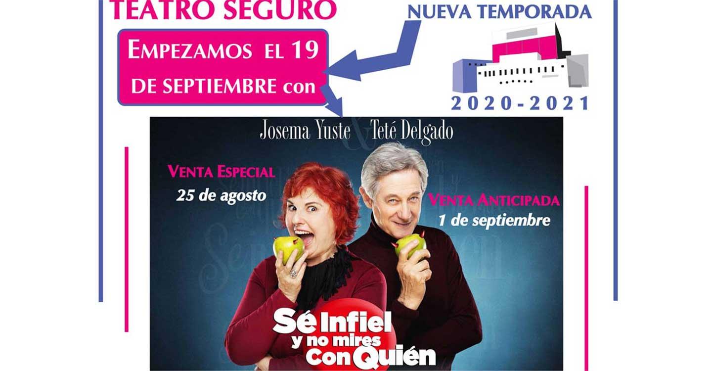 La Concejalía de Cultura del Ayuntamiento de Tomelloso recuerda que el lunes próximo finaliza el plazo de devolución de abonos del teatro
