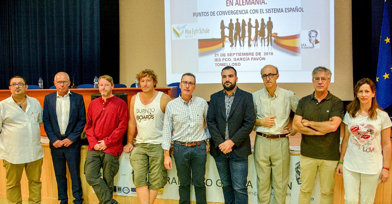 Álvaro Rubio participa en una jornada de formación sobre los sistemas educativos alemán y español