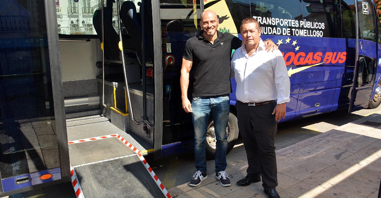 El transporte público fue la gran estrella en Tomelloso durante el Día Europeo sin coches