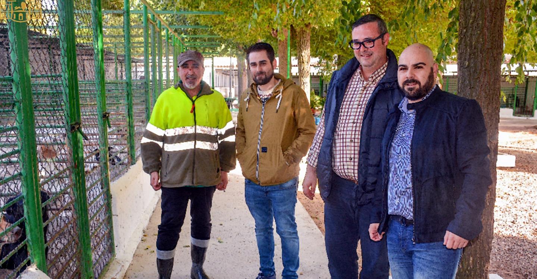 Barato y López visitan las obras incluidas en los planes de empleo