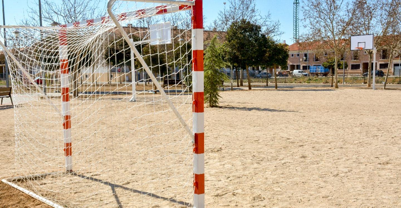 Las inversiones deportivas en zonas verdes llega al parque Ínsula Barataria