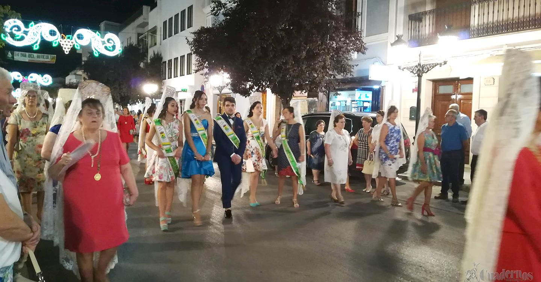 La Virgen de las Viñas recorre las calles de Tomelloso