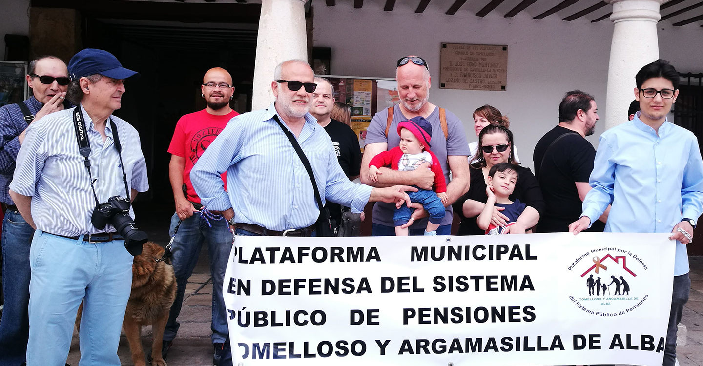 Nueva concentración en Tomelloso por unas pensiones públicas dignas