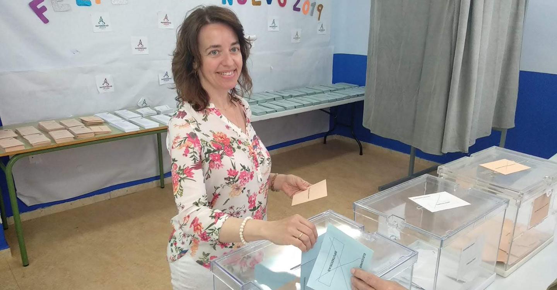 """""""Vamos a estar contentos con cualquier resultado"""", opinión de Pilar Bonillo de Vox, para estas elecciones."""