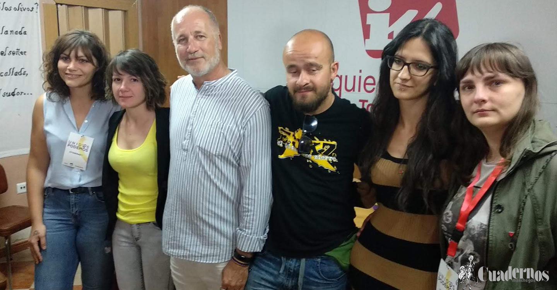 Rafael Quesada de Unidas –Podemos expresó tener un sabor agridulce por el resultado de las votaciones, pero que seguirán luchando por Tomelloso desde la calle.