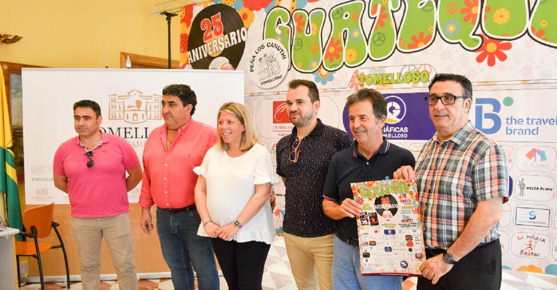 """Los Canuthis presentaron el Guateque """"25 Aniversario"""""""