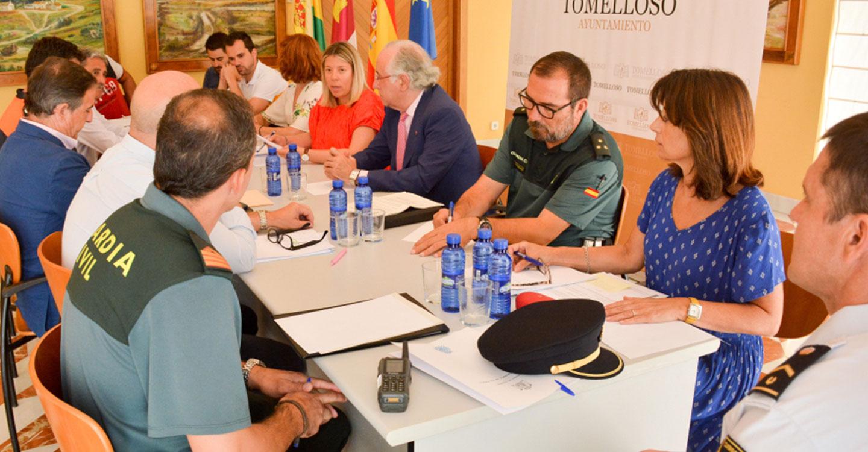 La Junta Local de Seguridad se reúne con motivo de la Feria y Fiestas