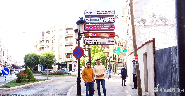 Finalizada la nueva señalización de tráfico y publicitaria de Tomelloso