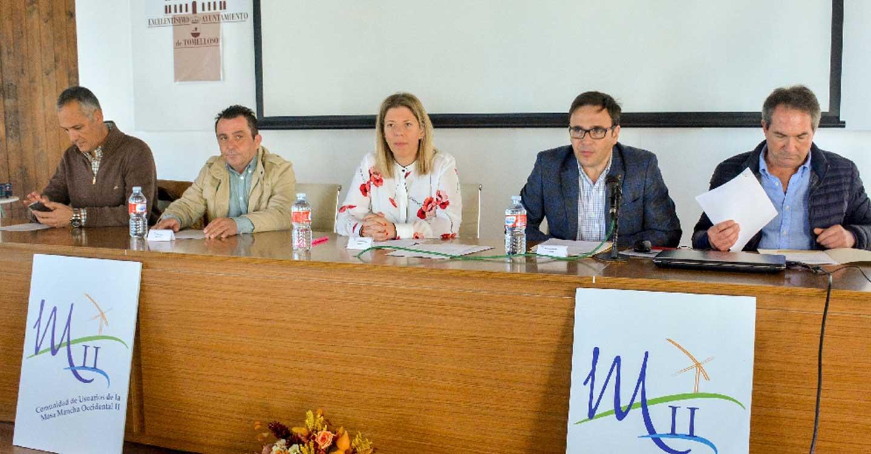 Inmaculada Jiménez participa en la Junta General de la CUAS Masa Mancha Occidental II