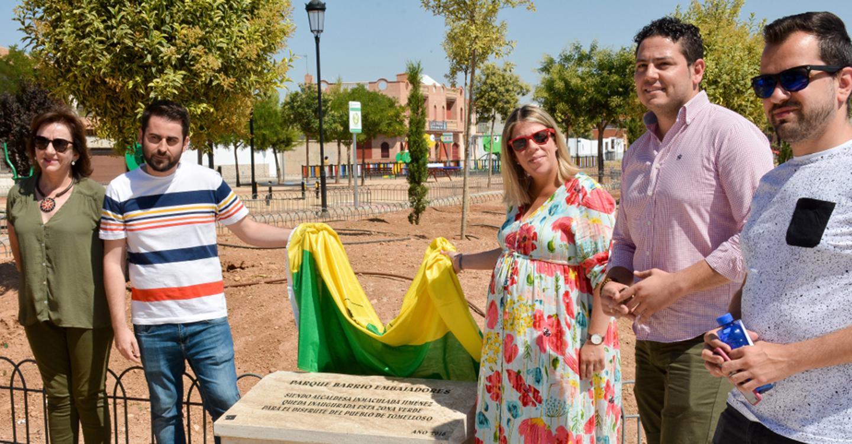 """Inaugurado el parque """"Embajadores"""""""