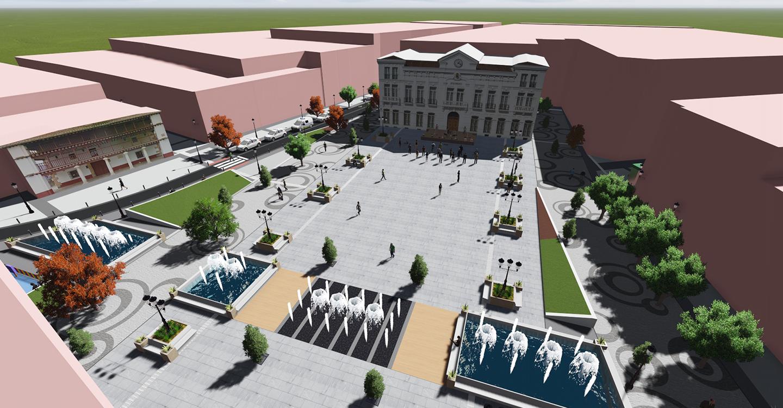 Aprobada la licitación de la obra de remodelación de la plaza de España por la Junta de Gobierno Local
