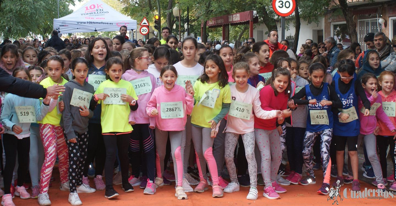 La 10K infantil supera el mal tiempo con una gran jornada de atletismo