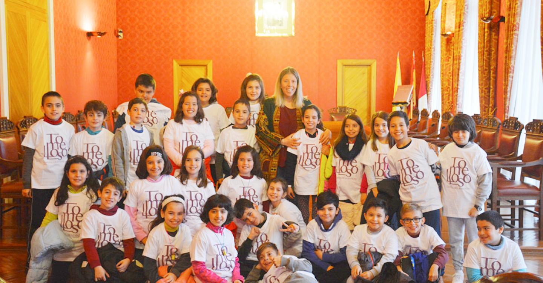 Alumnos de 4º de Primaria del CEIP Virgen de las Viñas visitan el Ayuntamiento